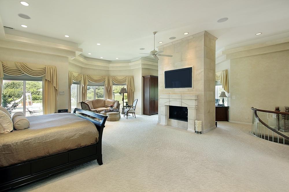 luxury master bed