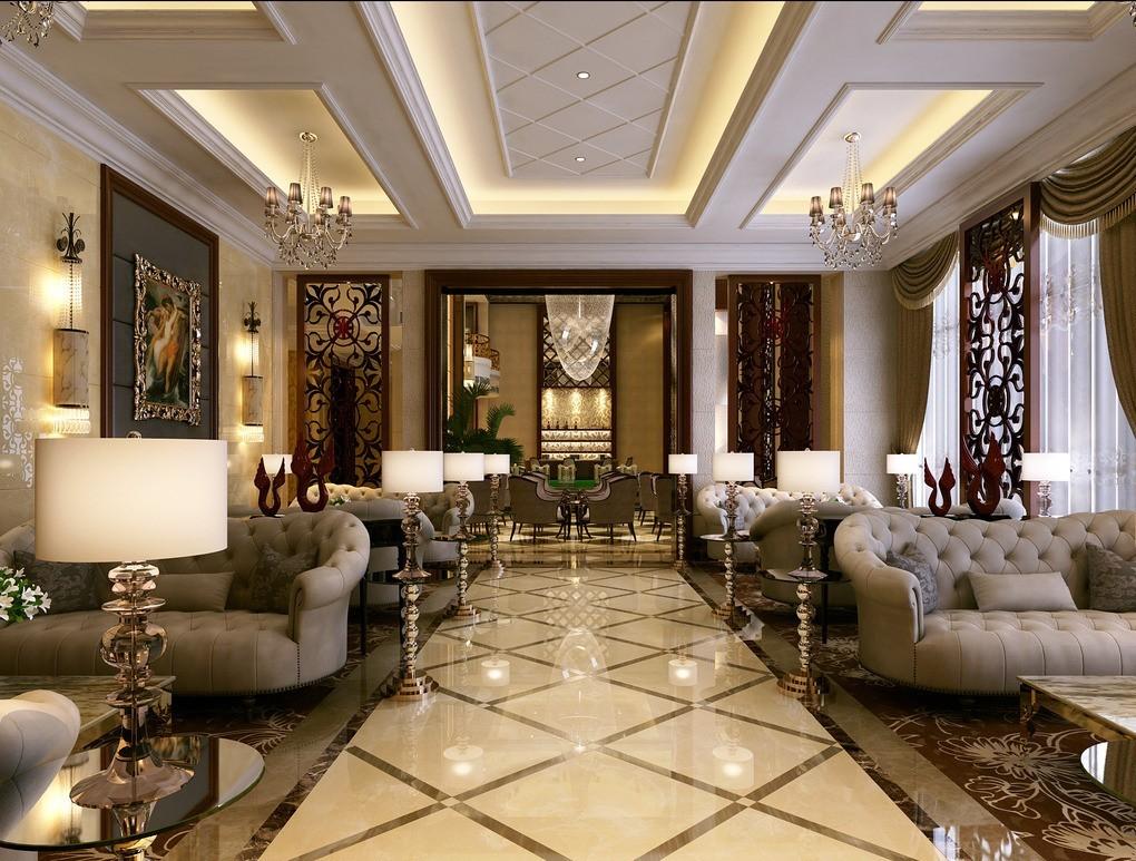 Elegant Modern Classic Interior Design