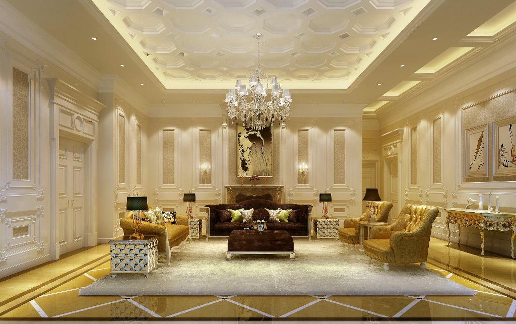 Exotic Luxury Living Room