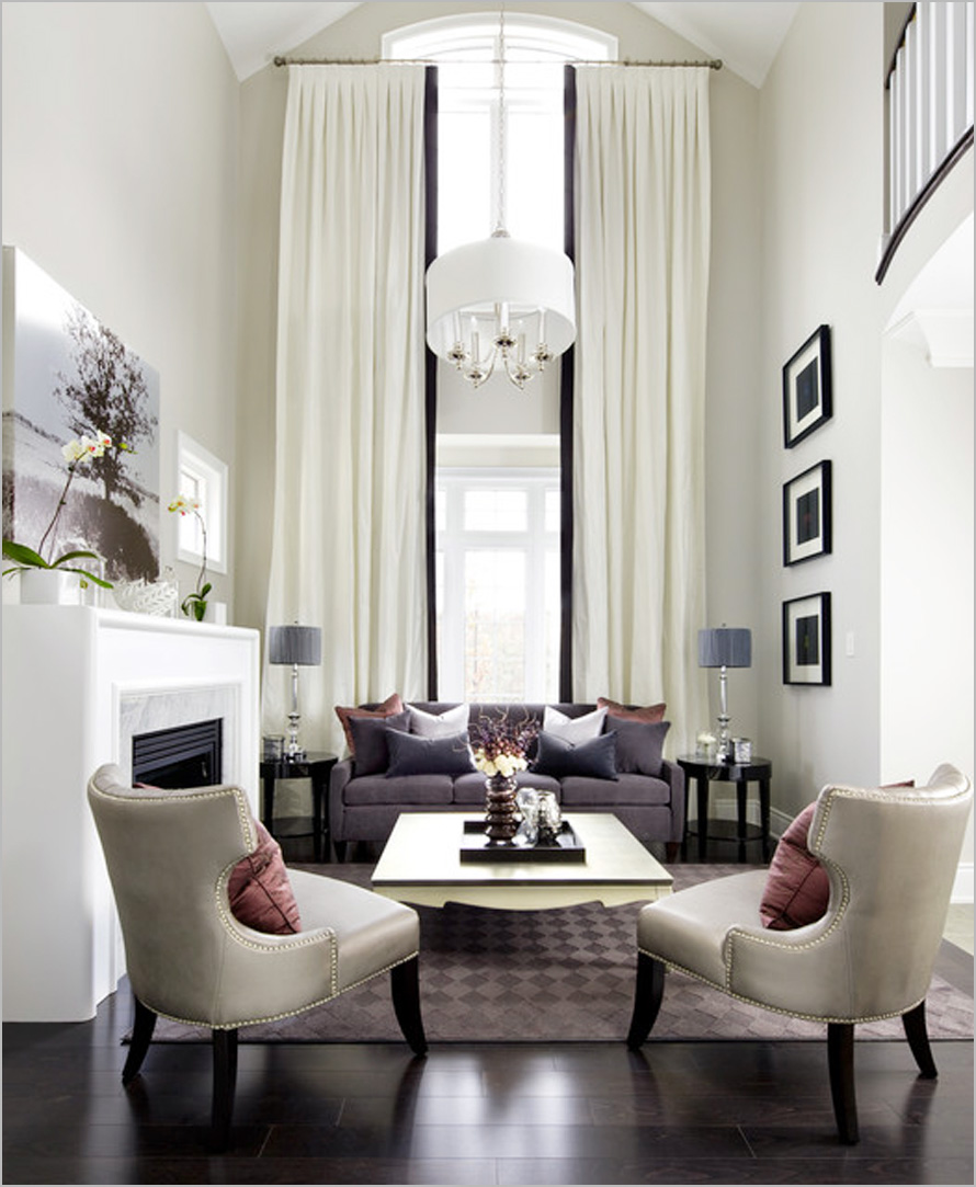 Luxury Living Room Curtains
