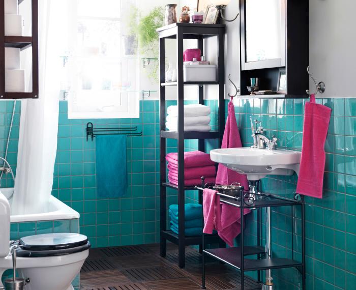 bathroom with IKEA