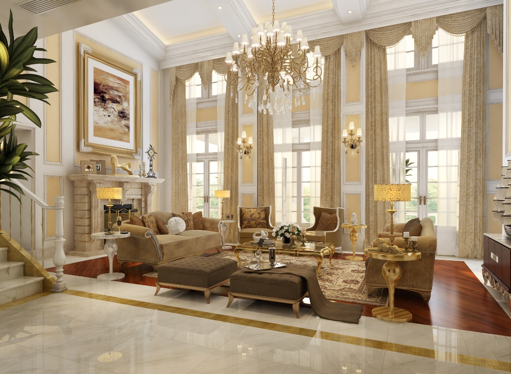 luxurious-living-room-sets