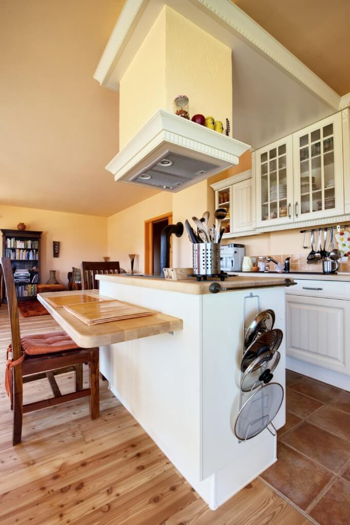 Kitchen-Island-with-Floating-Breakfast-Bar