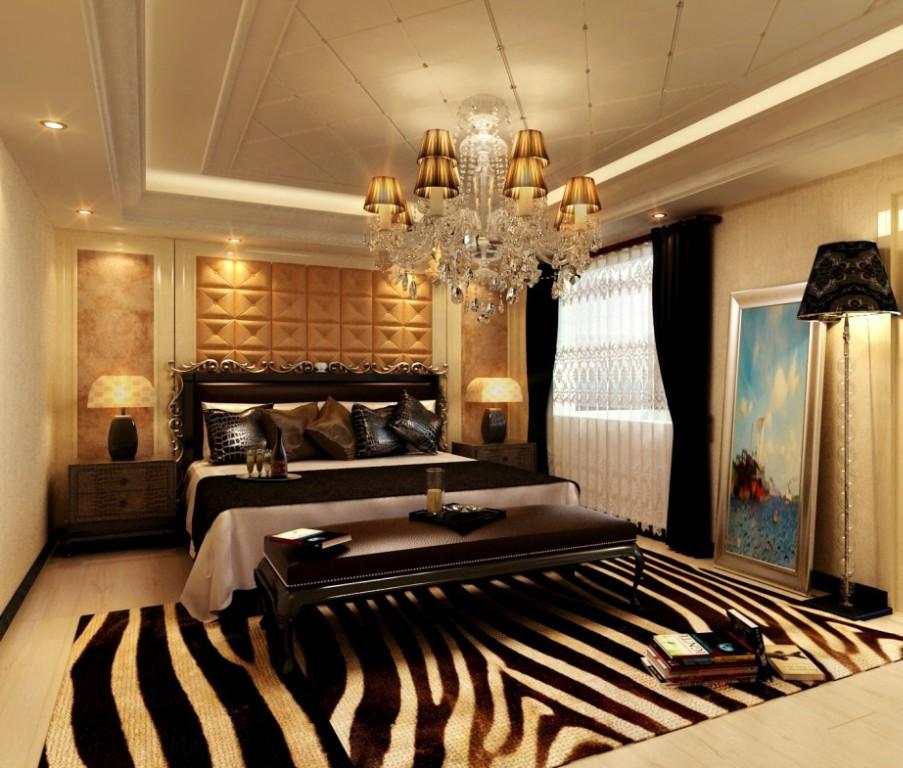 Modern European Style Master Bedroom