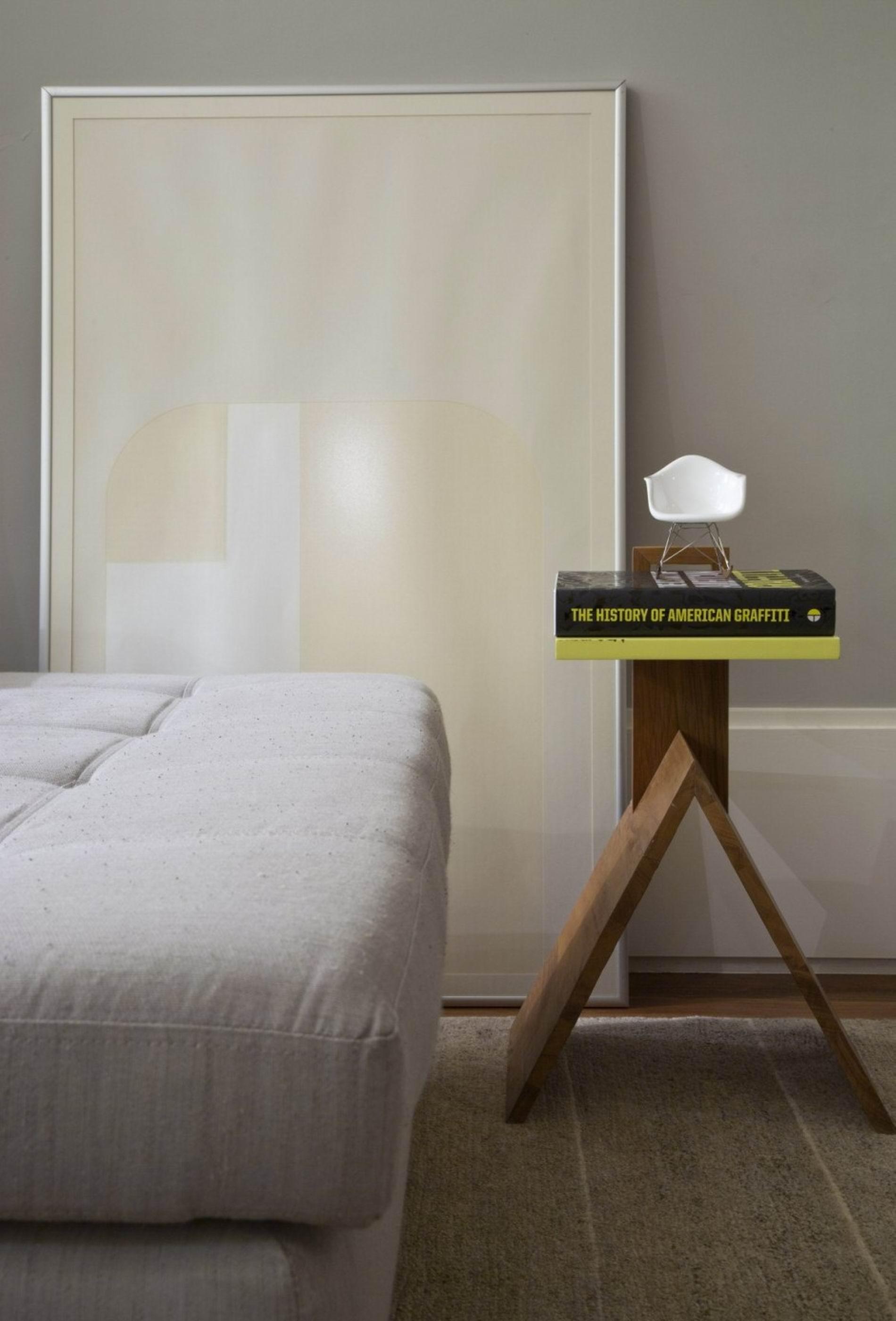 Modern Minimalist Apartment Bedroom