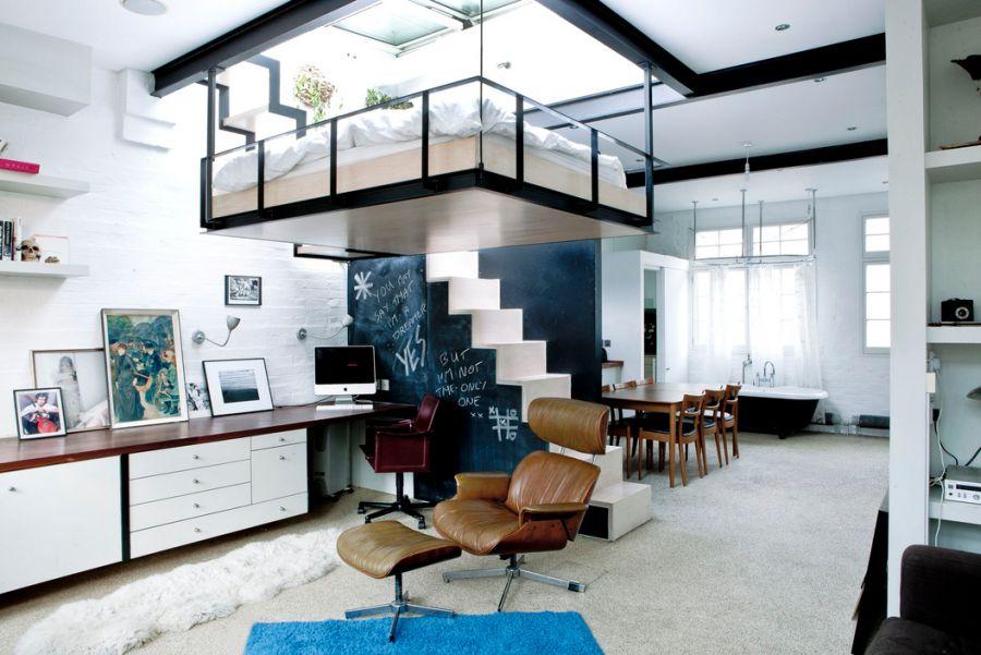 Space-conscious-home-in-Camden-Borough-London
