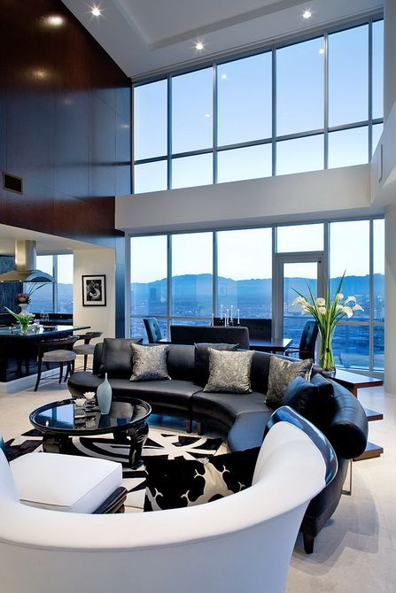 Great Living Room with Stunning View