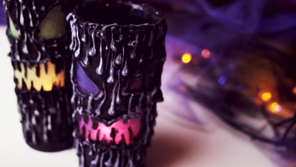 DIY Scary Halloween Lantern