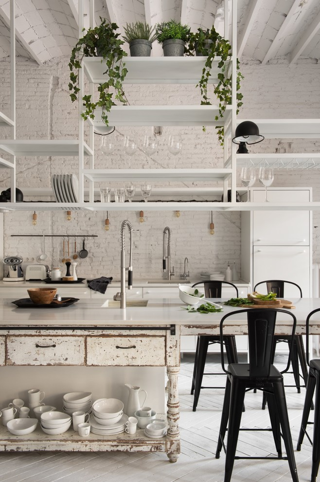 Shabby-Chic Style Kitchen Design