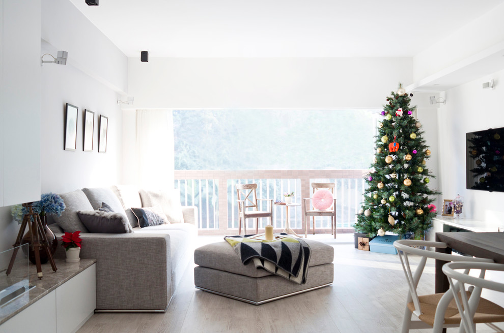 christmas-modern-living-room-design