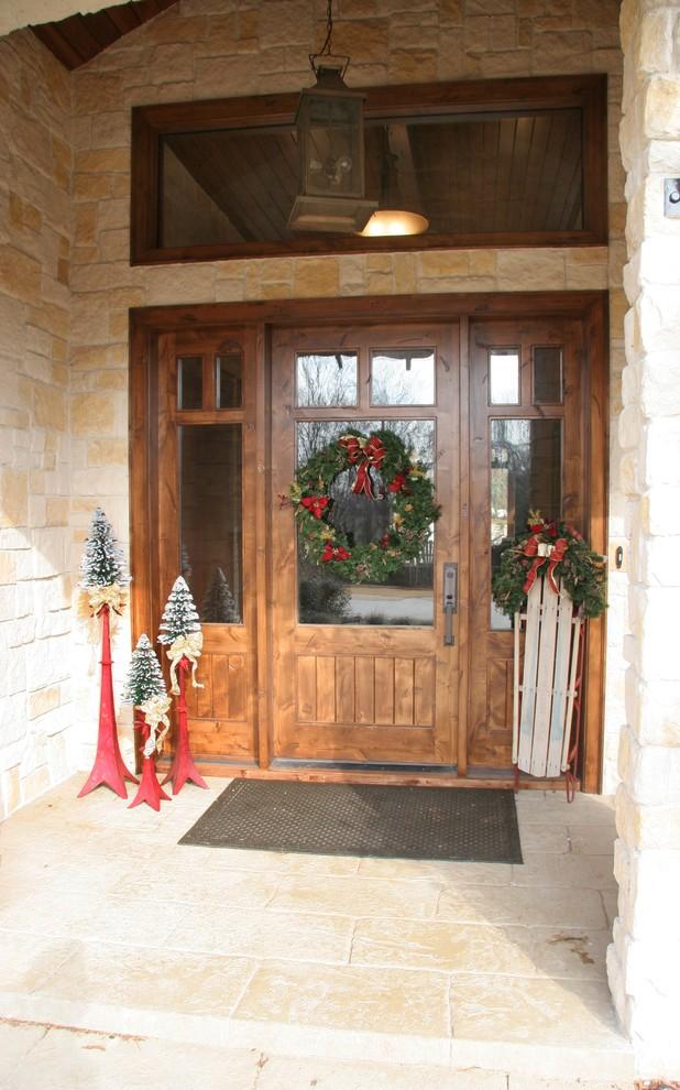 craftsman-style-entry-christmas-decoration