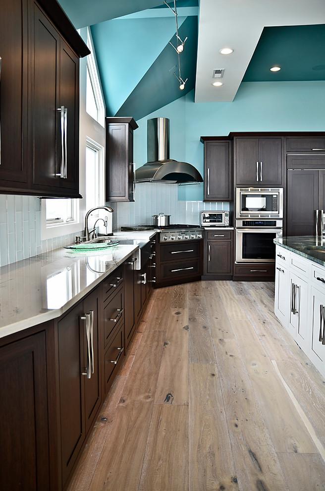 18 Kitchen With Dark Wood Cabinets Design Ideas