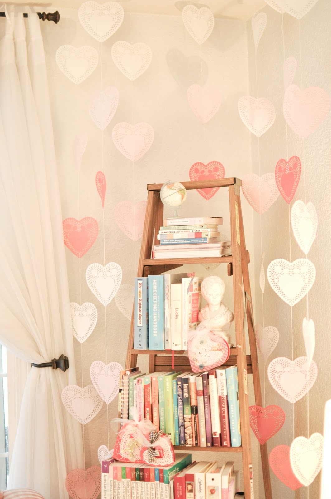 diy-valentines-ladder-bookshelves