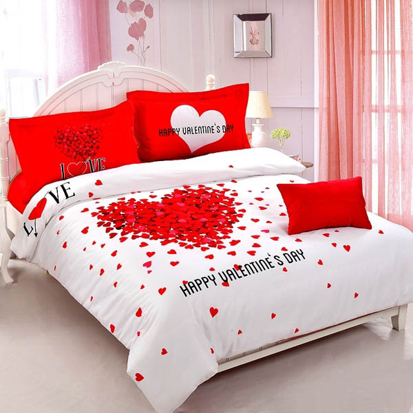 25 Valentines Decorations: 25 Romantic Valentines Bedroom Decorating Ideas