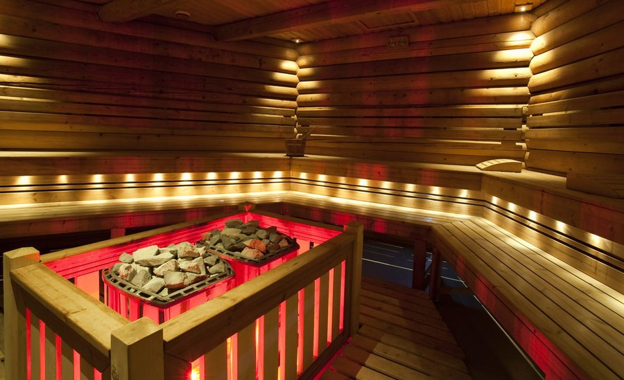 Rustic Sauna Design