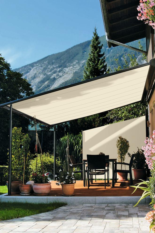Scandinavian Backyard Patio Design