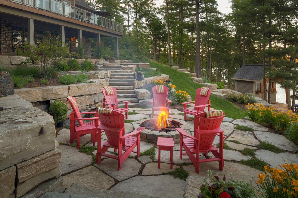 Traditional Backyard Patio Design