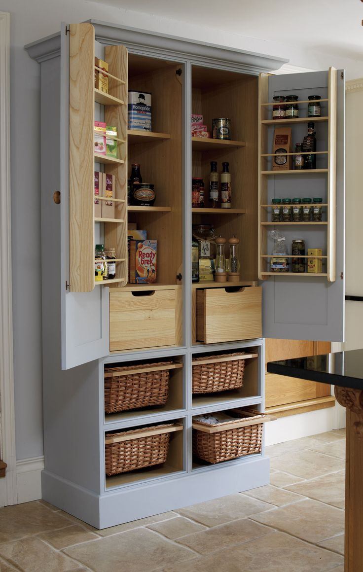 Free Standing Kitchen Pantry Design