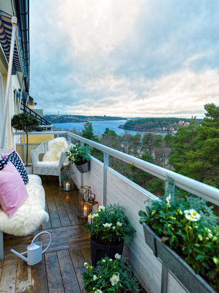 Scandinavian Balcony Design