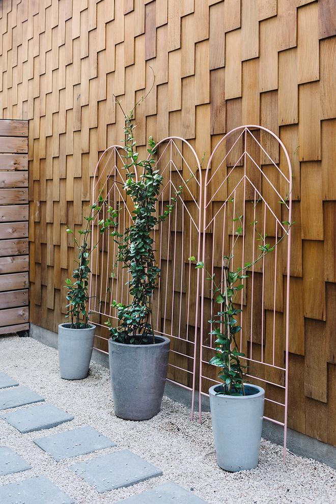 Wooden Scandinavian Patio Design