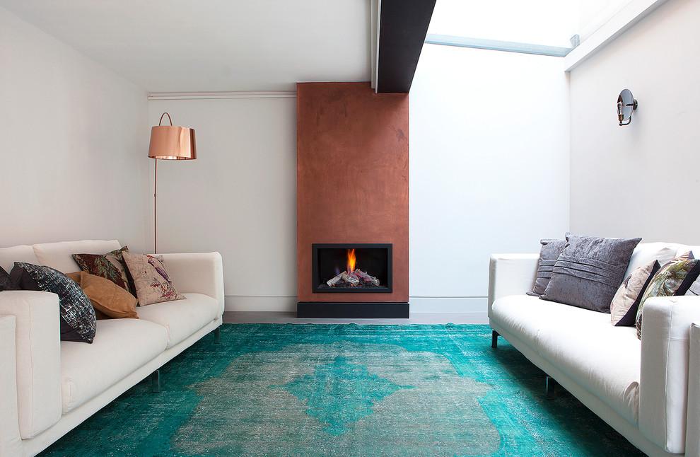 Contemporary Living Room Rug Design