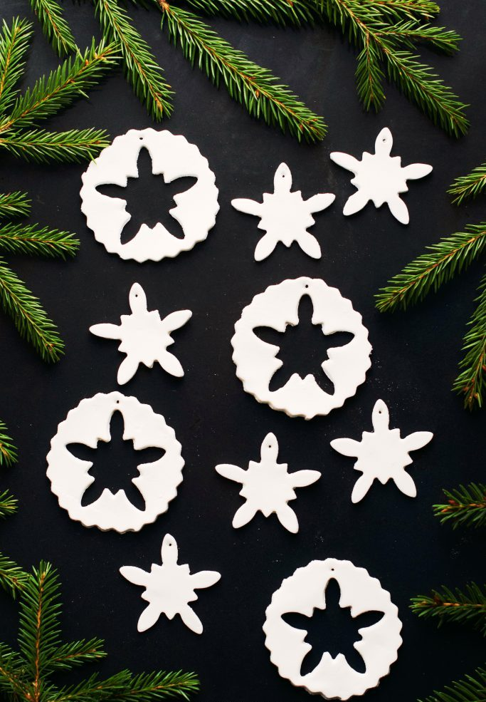 DIY Air Dry Clay Ornaments