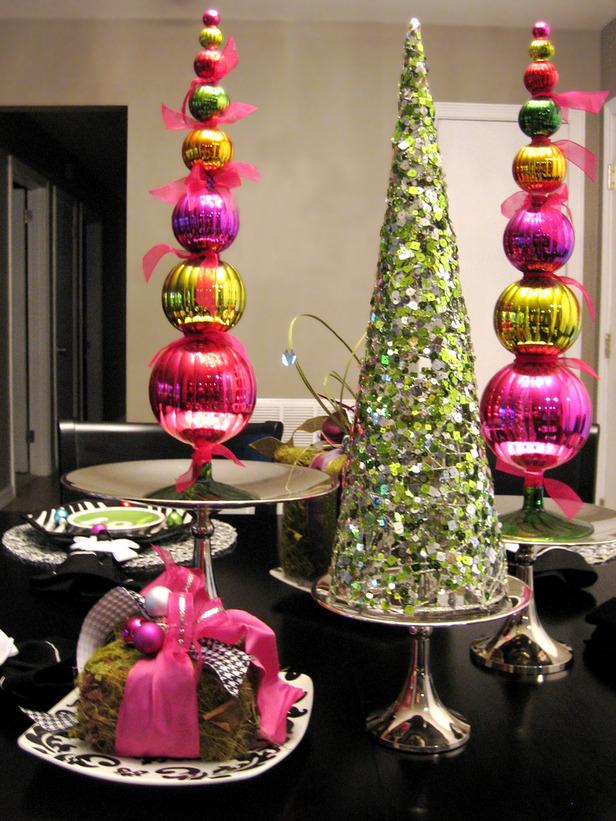 DIY Christmas Tree Table Decoration