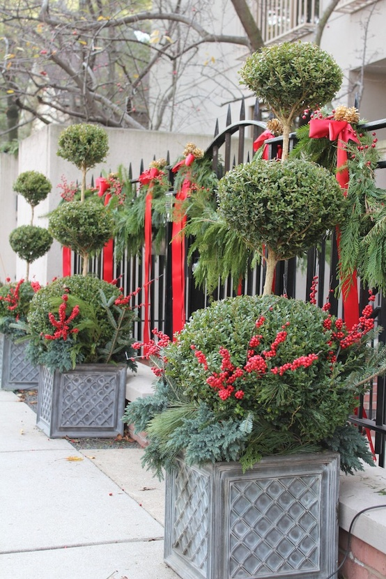 Outdoor Christmas Decorating Idea