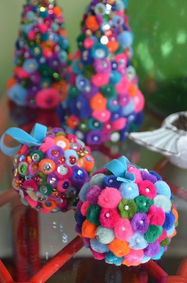 Pompoms and Pins