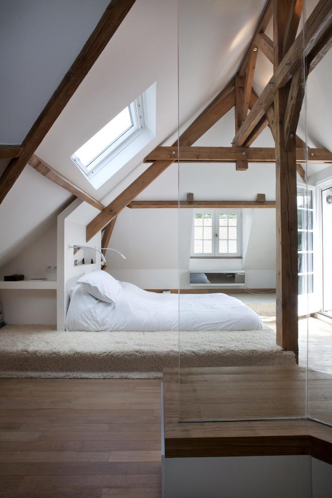 Rustic Loft-Style Bedroom