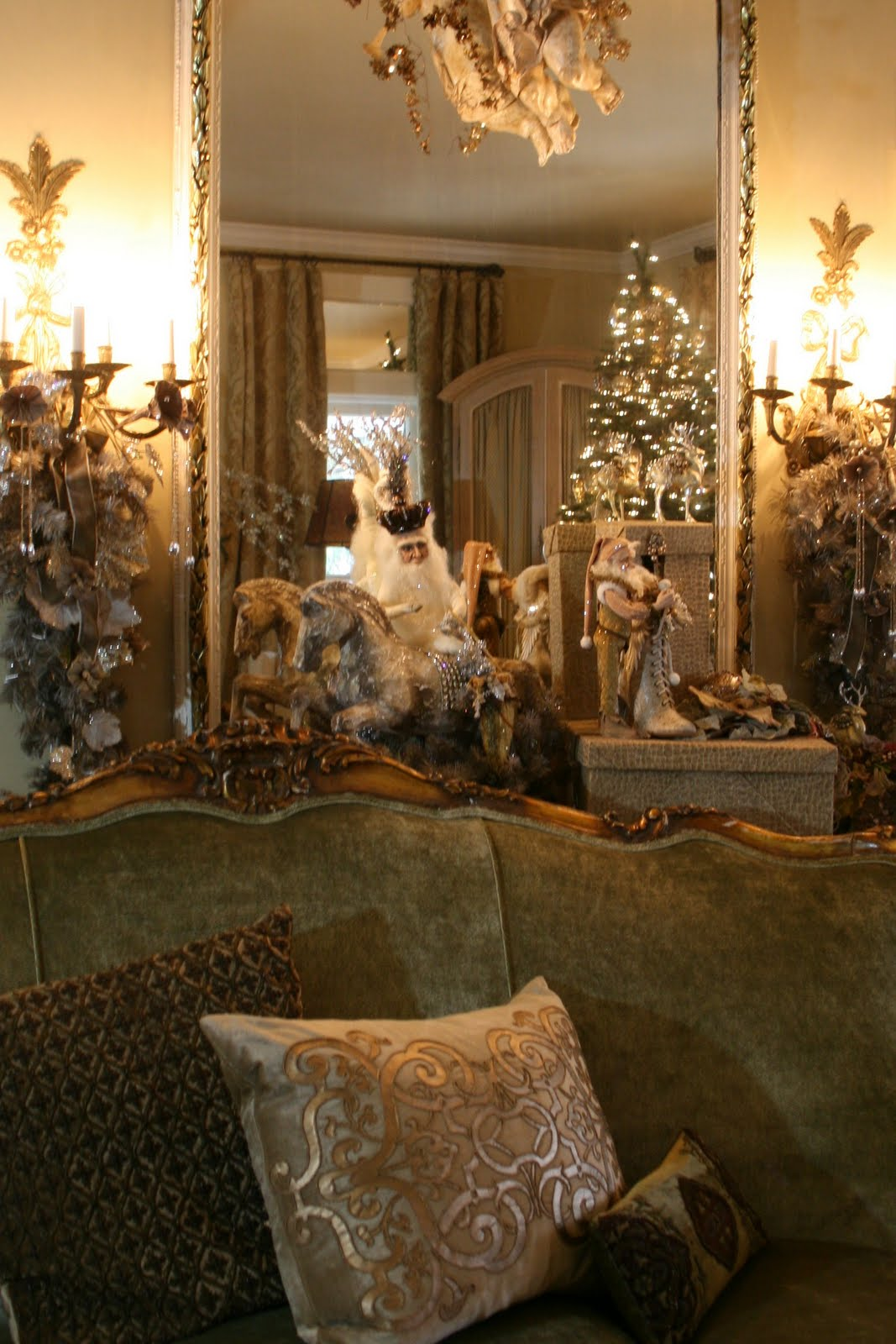 Christmas Living Room Decor