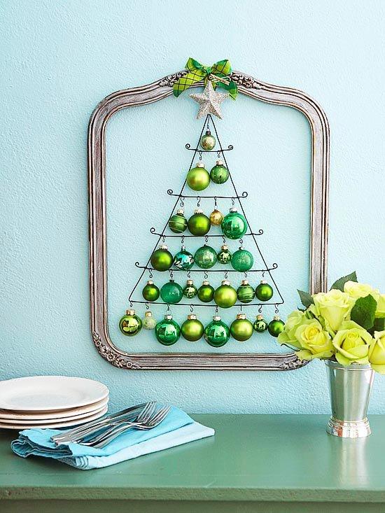 Christmas Tree Wall Decoration