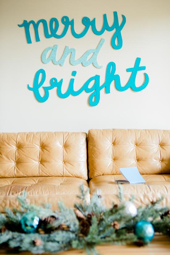 DIY Holiday Wall Art