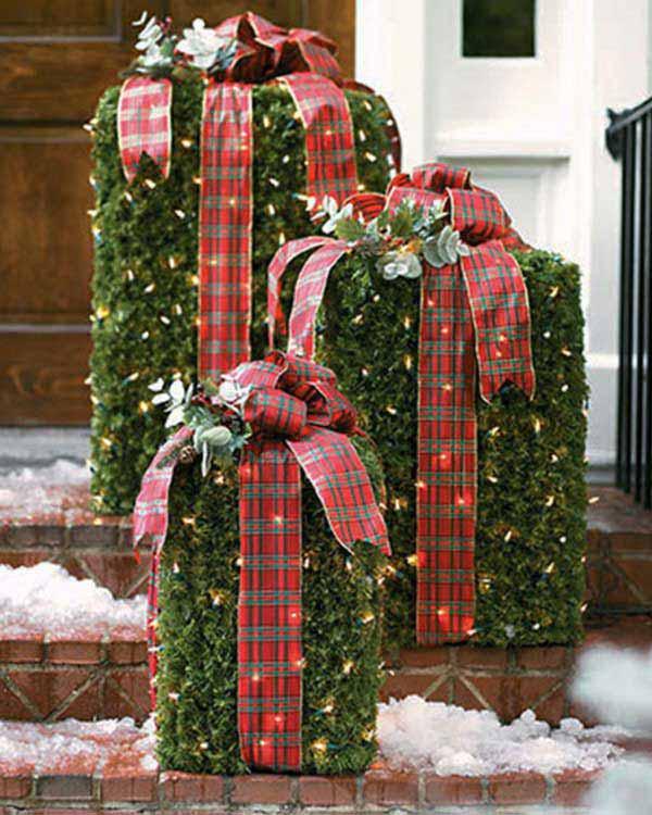 DIY Porch Christmas Decorating Ideas