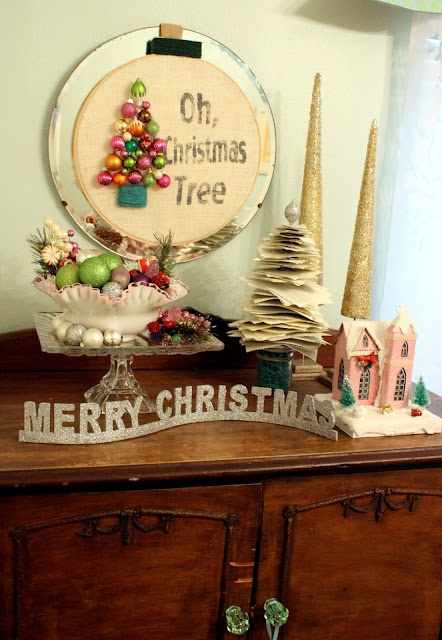 DIY Wall Christmas Tree Decoration