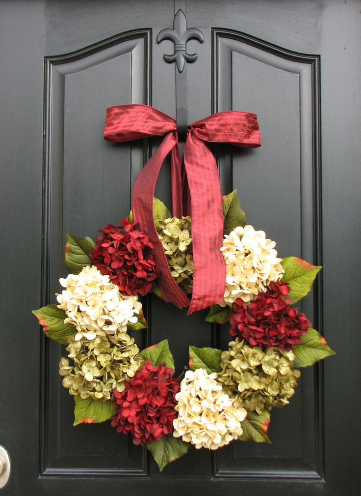 Front Door Christmas Wreath