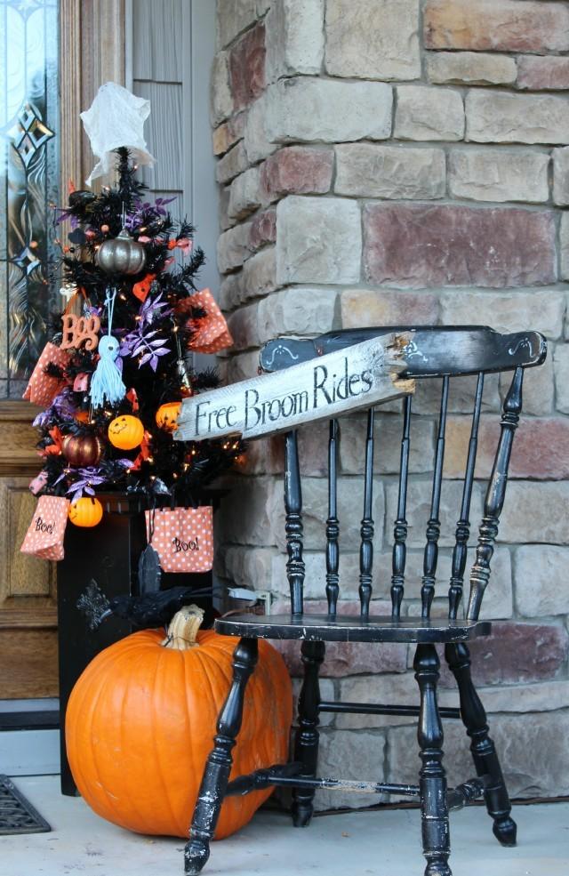 Fun & Festive Halloween Porch Decorating Ideas