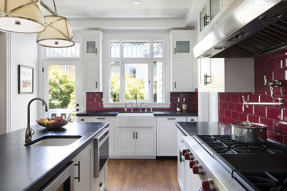Large Victorian U-shaped KItchen