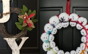 40 Amazing Wreath Christmas Decoration Ideas