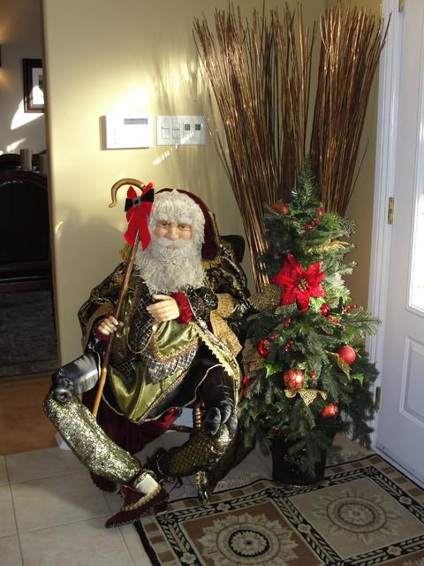 Christmas Living Deocr Room