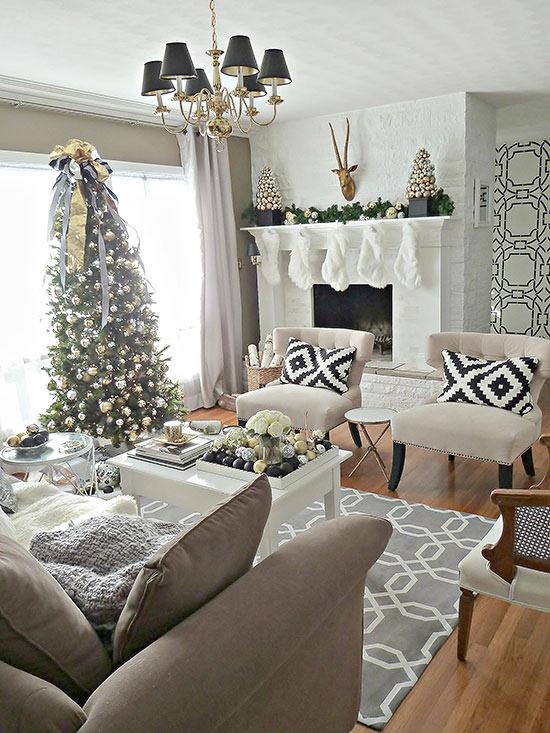 Christmas Living Room Decor Ideas (12)