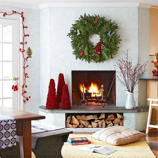 Christmas Living Room Decor Ideas (24)
