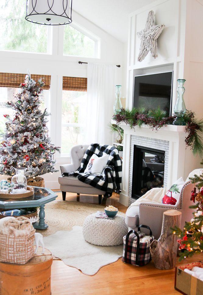 Christmas Living Room Decor Ideas (25)