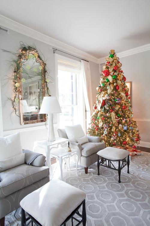 Christmas Living Room Decor Ideas (28)