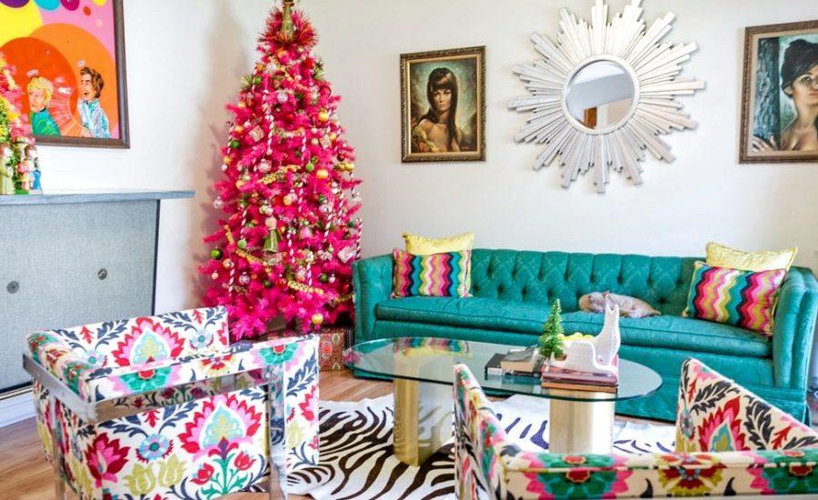 Christmas Living Room Decor Ideas (29)