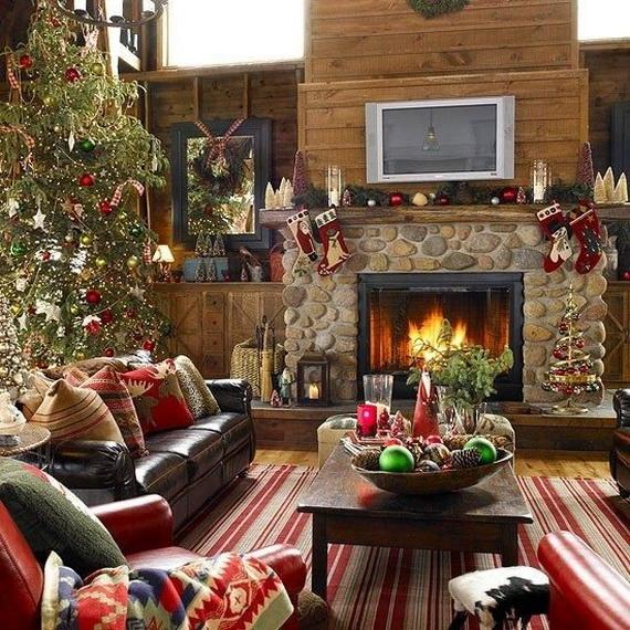 Christmas Living Room Decor Ideas (33)