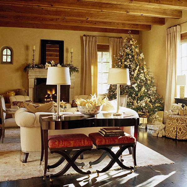 Christmas Living Room Decor Ideas (38)