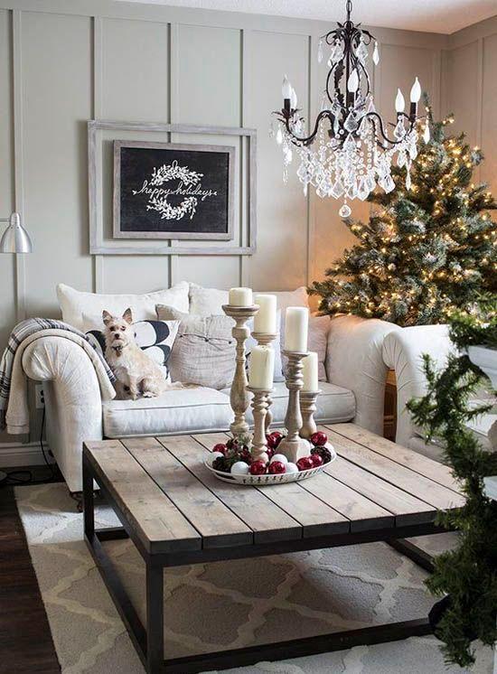 Christmas Living Room Decor Ideas (42)