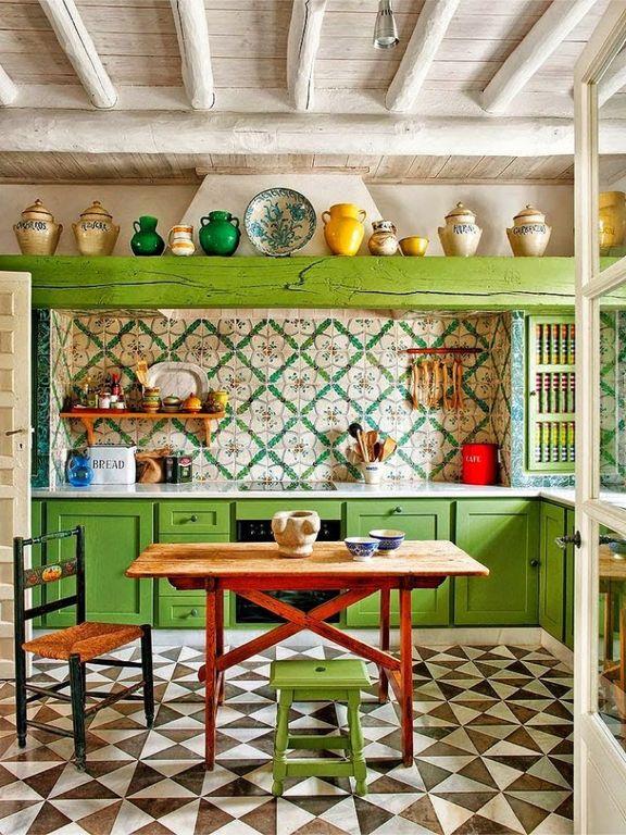 Eclectic Kitchen Design Ideas (12)