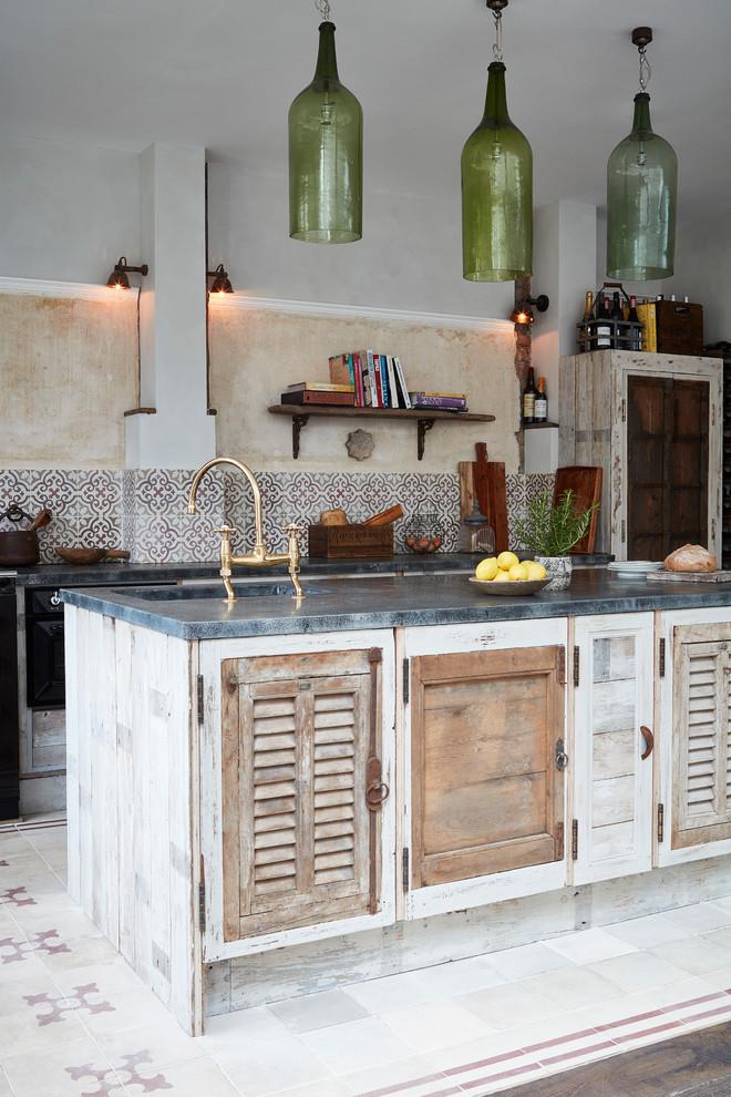 Midsized Mediterranean Kitchen